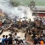 Hỏa hoạn thiêu rụi 6 căn nhà tại chợ Nậm Cuổi, Lai Châu