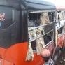 Hai xe khách tông nhau tại Gia Lai, 7 người bị thương