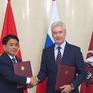Hà Nội và Moscow ký kết chương trình hợp tác 2019 - 2021