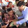 Đoàn công tác liên ngành thăm bà con người Việt ở Biển Hồ (Campuchia)
