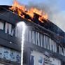 Cháy trung tâm thương mại ở Ấn Độ