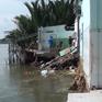 Sạt lở khiến 4 căn nhà hư hỏng tại Long An