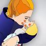 Nguy cơ nhiễm vi khuẩn HP từ hôn môi và mớm cơm cho trẻ