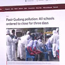 Hàng trăm trường học tại Malaysia đóng cửa vì ô nhiễm nghiêm trọng