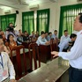 Bộ trưởng Phùng Xuân Nhạ kiểm tra công tác thi THPT Quốc gia tại Long An