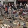 Chợ đồ cũ ở Brussels, Bỉ
