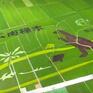 Độc đáo đồng lúa có hình khủng long đẹp như tranh vẽ