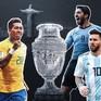 Lịch trực tiếp bóng đá tứ kết Copa America 2019: Chờ đợi chung kết sớm Brazil - Argentina