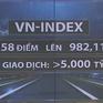 Chứng khoán tăng gần 10 điểm, hút hơn 5.000 tỷ đồng giao dịch