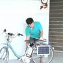 """Thầy giáo """"chế"""" xe đạp chạy bằng năng lượng mặt trời"""
