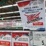Làn sóng tẩy chay sản phẩm Nhật Bản tiếp tục lan rộng tại Hàn Quốc