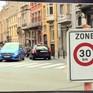 Giới hạn tốc độ 30km/h tại Brussels (Bỉ)