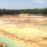 Long An: Người dân lo lắng sạt lở vì hầm khai thác đất