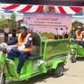 TT-Huế: Thí điểm thu gom rác thải bằng xe điện