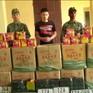 Lạng Sơn: Bắt xe mang biển kiểm soát giả vận chuyển 280 kg pháo