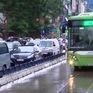 Ùn tắc trên tuyến đường xe bus nhanh