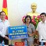 Trao kinh phí xây dựng nhà Đại đoàn kết cho người dân vùng tâm lũ tỉnh Đắk Lắk
