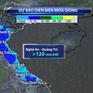 Khu vực Bắc miền Trung tiếp tục mưa diện rộng