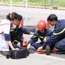 """Trương Quỳnh Anh ngã đau đớn tại """"Mỹ nhân hành động"""""""