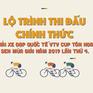 [Infographic] Lộ trình 8 chặng của Giải xe đạp quốc tế VTV Cúp 2019