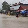 Phú Quốc lại ngập úng, có nơi ngập sâu gần cả bánh xe