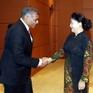 Chủ tịch Quốc hội tiếp Chánh án Tòa án Tối cao Singapore