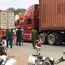 Mức xử phạt xe container chở hàng gây nguy hiểm