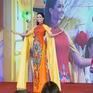 Hoa hậu H'Hen Niê diện áo dài rạng rỡ tại Thái Lan