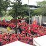 Rạo rực không khí cổ vũ đội tuyển Việt Nam tại SVĐ Thammasat