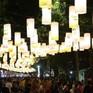 Phố Phùng Hưng rực rỡ với hàng trăm đèn lồng đón Trung thu