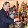 Lễ dâng hương, dâng hoa Chủ tịch Hồ Chí Minh và Chủ tịch Tôn Đức Thắng