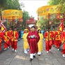 Lễ dâng cúng bánh tét Quốc tổ Hùng Vương Tết Canh Tý 2020