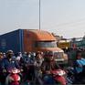 Tình hình giao thông căng thẳng trên những tuyến đường dẫn về quê dịp Tết