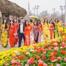 Khoảng 1 triệu người tham dự Lễ hội hoa Xuân 2020