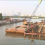 Thi công xuyên Tết tại công trình dự án chống ngập 10.000 tỷ đồng