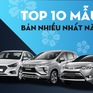 Top 10 thương hiệu bán nhiều xe nhất thế giới năm 2019
