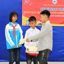 Cậu bé 9 tuổi dành tiền mừng tuổi giúp học sinh mồ côi ăn Tết