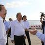 Phó Thủ tướng Trương Hòa Bình thăm và làm việc tại cảng Long An