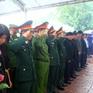 Gia đình, đồng chí, đồng đội chào tiễn đưa lần cuối các liệt sỹ Rào Trăng 3