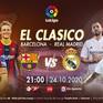 "Barcelona - Real Madrid: ""El Clasico"" đỉnh cao trên VTVcab"