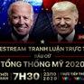 Phiên tranh luận trực tiếp cuối cùng giữa Donald Trump và Joe Biden (7h30 ngày 23/10)