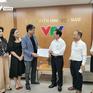 Quỹ Tấm lòng Việt tiếp nhận tiền ủng hộ miền Trung từ Hội Thừa Phát Lại Hà Nội