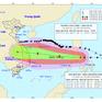 Bão số 8 suy yếu, bão số 9 giật cấp 14 tiến gần Biển Đông và tiếp tục mạnh thêm