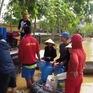 Bình lọc nước dã chiến công suất lớn cho người dân vùng lũ