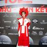 Catwalk trên guốc mộc cao 15cm, mẫu nhí gây ấn tượng tại cuộc thi Siêu sao mẫu nhí Việt Nam 2020