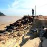 Kè biển gần 80 tỷ đồng hư hỏng nặng do bão số 9