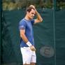 Roger Federer bắt đầu trở lại tập luyện trên mặt sân cứng