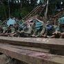 Chạy đua với thời gian tìm kiếm người mất tích trong vụ sạt lở ở Trà Leng