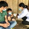 Quảng Ngãi tiêm phòng bệnh bạch hầu cho 19.000 trẻ 7 tuổi