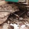 Nhà sụt lún hàng mét ăn sâu vào móng, nền lún nghiêng hẳn một bên vì dự án nhà cao tầng